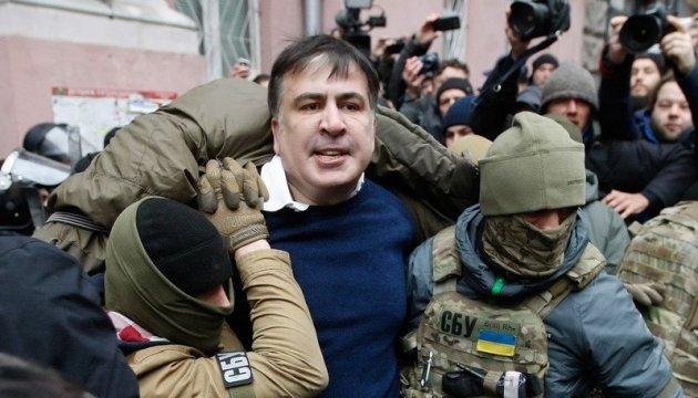 Полковника, у квартирі якого затримали Саакашвілі, звільнили з поліції 5 місяців тому