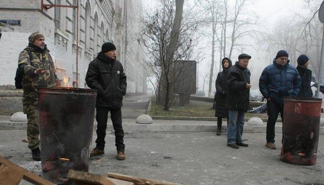Затримання Саакашвілі: ситуація біля ізолятора СБУ спокійна