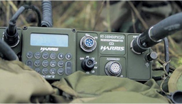 Ukrainian diaspora in Canada hands over ten kits of communication equipment to ATO fighters