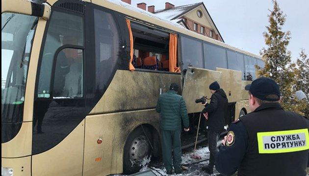 Польский автобус во Львове обстреляли из РПГ - источник в полиции