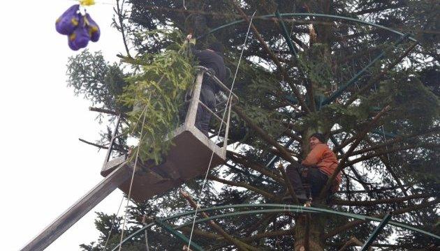 Головну ялинку Києва реставрують після ДТП