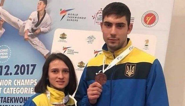 Ромолданова та Шелест принесли Україні медалі Євро-2017 з тхеквондо