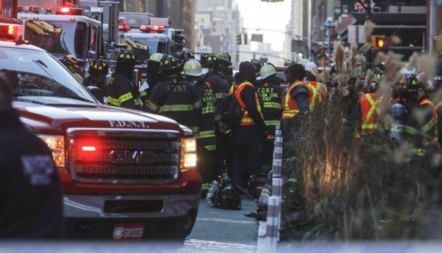 Мер Нью-Йорка розкрив подробиці вибуху в центрі Манхеттена