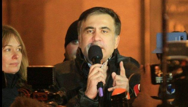 Saakachvili se déclare prêt à chercher un accord avec Porochenko (vidéo)