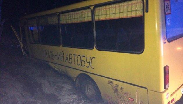 Смертельна ДТП на Житомирщині: BMW в'їхав в автобус зі школярами