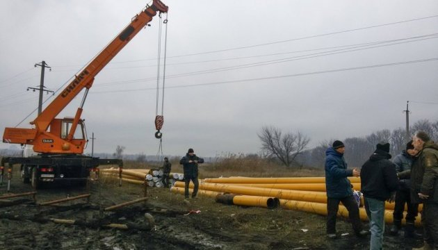 Occupation authorities of ORDO continue to block process of restoring gas supply to Marinka and Krasnohorivka