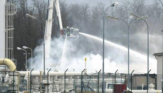 Транзит газу Україною зменшився на 23% через вибух в Австрії