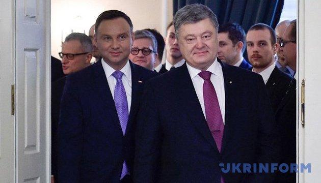 Duda, Poroshenko should find 'political symbols' - Polish expert