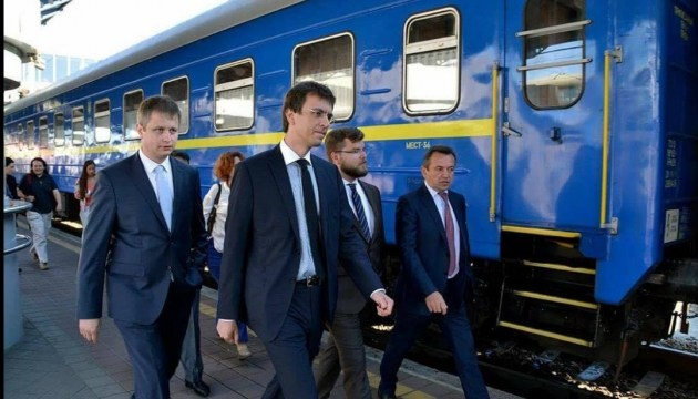 Ukrzaliznytsia to sign contract with General Electric in Feb - Omelyan