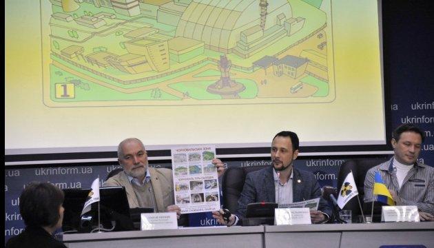 В Киеве презентовали первую туристическую карту Чернобыльской зоны