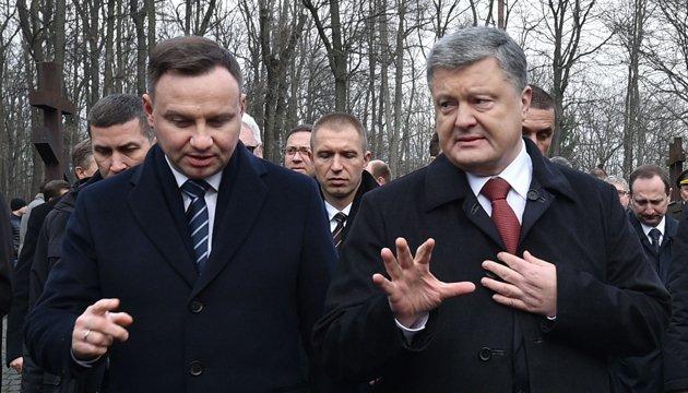Порошенко позитивно оцінив співпрацю з Польщею у створенні ЛитПолУкрБриг