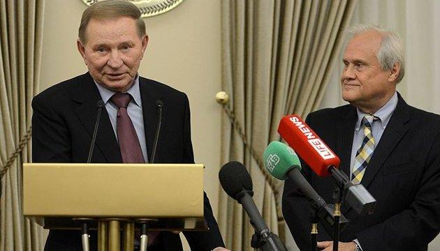 Кучма і Сайдік обговорили теми завтрашнього засідання у Мінську