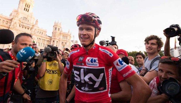 Велогонщика Фрума не дискваліфікують за позитивний допінг-тест