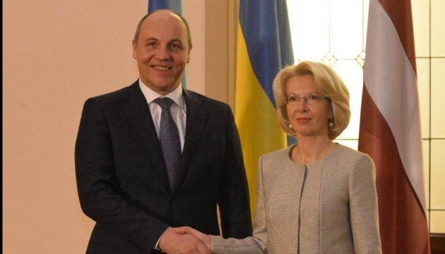 Парубий: Продление санкций против РФ - ключевое измерение международной поддержки Украины