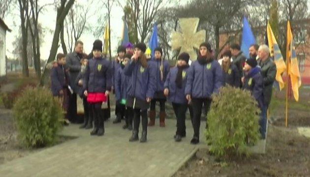 У Сумах відкрили пам'ятник борцям за Україну