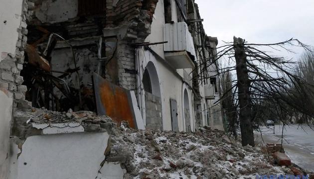 Donbass: Marjinka unter Mörserbeschuss