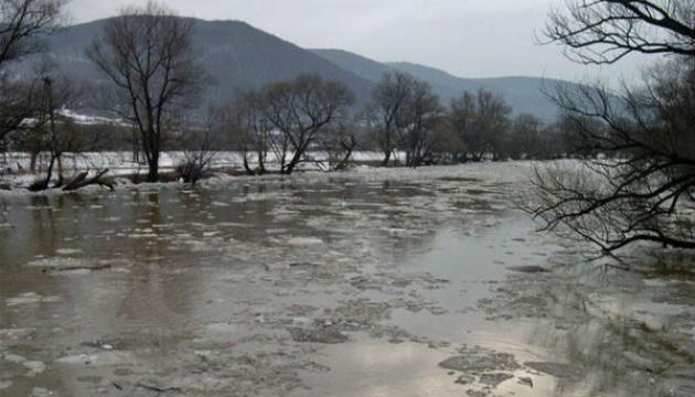На п'яти річках Закарпаття почався паводок