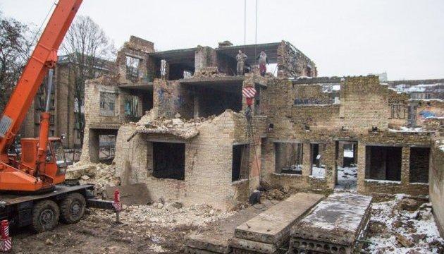 В Киеве начали строительство детского сада в Соломенском районе