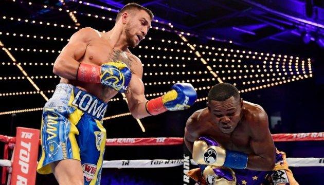 Ломаченко возглавил рейтинг лучших боксеров мира по версии ESPN