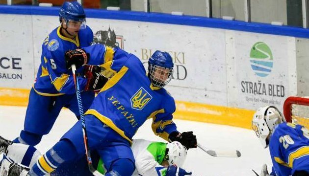 Первенство мира по хоккею: Сборная Украины (U-20) обыграла Литву и осталась в дивизионе 1В