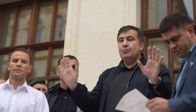 Saakashvili says he will testify only to SBU