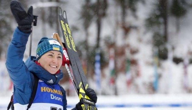 Кубок світу з біатлону: Успіх у спринті Віта Семеренко спробує закріпити у гонці переслідування