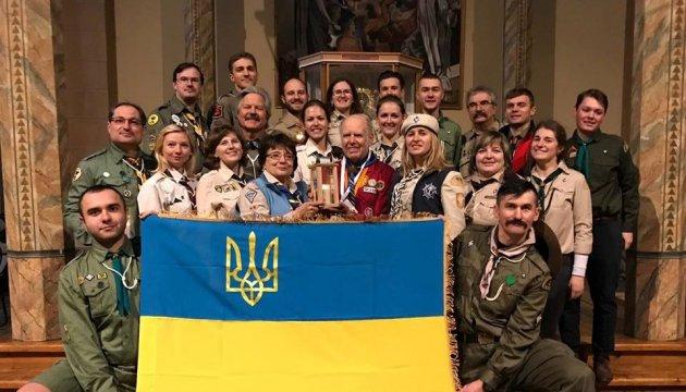 Вифлеємський вогонь миру вже у Києві