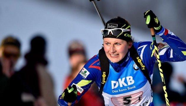 Біатлон: француженка Жюстін Бреза виграла мас-старт в Ансі; Юлія Джима - сьома