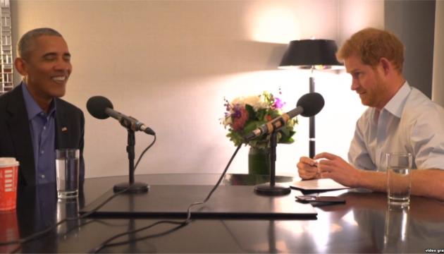 Принц Гаррі взяв у Обами інтерв'ю