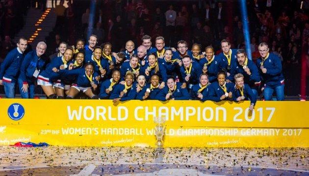 Сборная Франции стала чемпионом мира по гандболу среди женщин