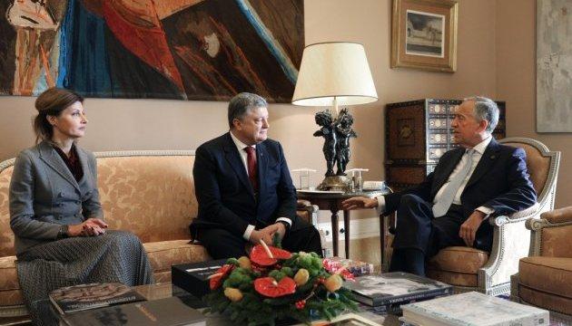 Торговый оборот между Украиной и Португалией в этом году вырос на 35 % - Порошенко