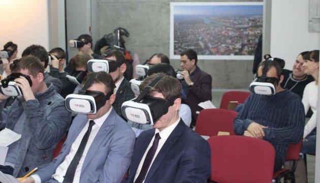В Хмельницком презентовали 3D-путеводитель по городу