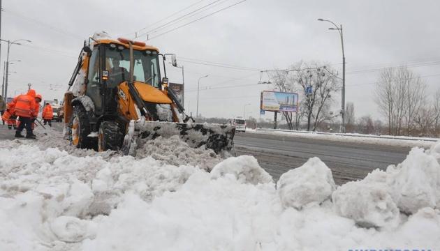 Снегопад в Киеве усилится: коммунальщики обещают чистить улицы всю ночь