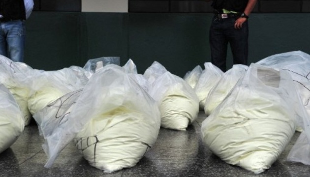 СБУ блокувала контрабанду кокаїну з Південної Америки