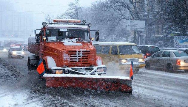 У Києві можна відстежити за онлайн-картою, чи прибирають сніг