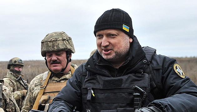 Турчинов привітав нацгвардійців з професійним святом