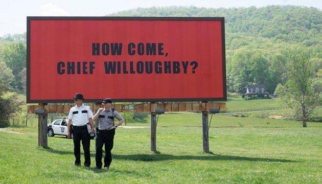Награду за лучший сценарий получили «Три билборда на границе Эббинга, Миссури»