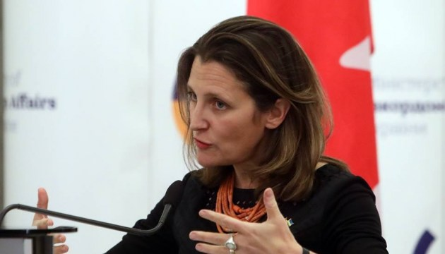 Freeland: Canada calls on Russia to free Sentsov