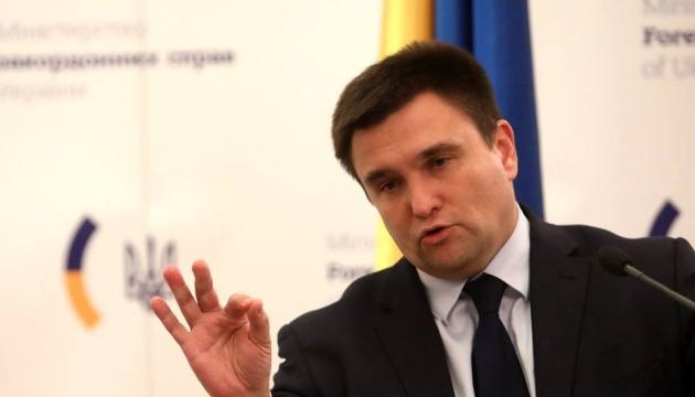 Климкин поздравил чешского коллегу с 25-летием дипотношений