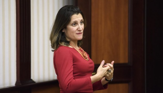 Chrystia Freeland in Ukraine to meet with country's leadership and diplomats