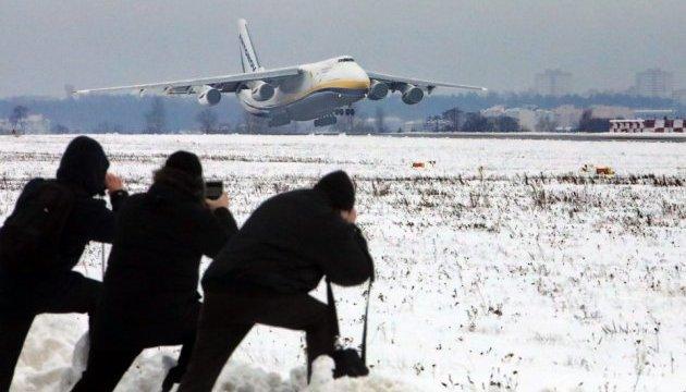 An-124 Rouslan a de nouveau pris son envol à proximité de Kyiv (photos)