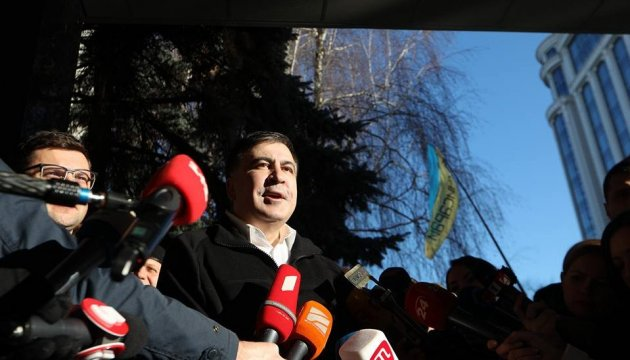 Saakashvili claims he will file lawsuit with ECHR