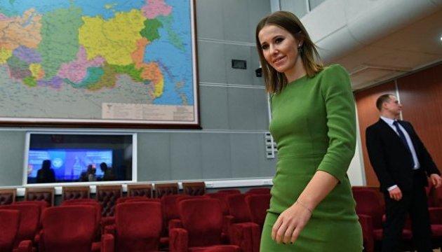 Собчак просить посольство України дати дозвіл на поїздку в Крим