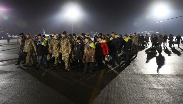 Президент подякував Німеччині та Франції за допомогу у звільненні військових з полону