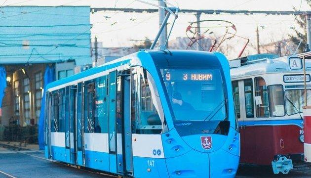 В Виннице выпустили восьмой трамвай Vin Way