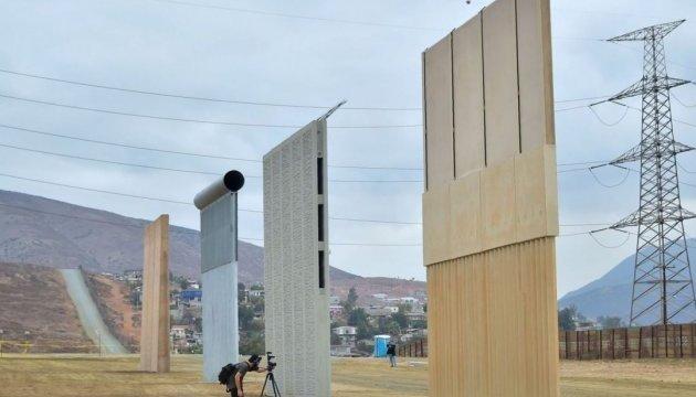 У США тестують вісім прототипів стіни на кордоні з Мексикою