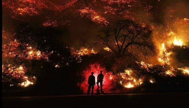 Лісові пожежі в Канаді: Блискавки спричинили більше 140 нових займань