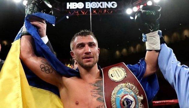 Ломаченко – лучший боксер 2017 года по версии HBO