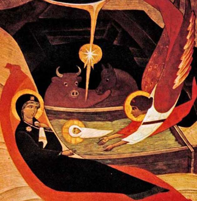 """Петро Холодний молодший, """"Різдво Христове"""", 1985 р."""