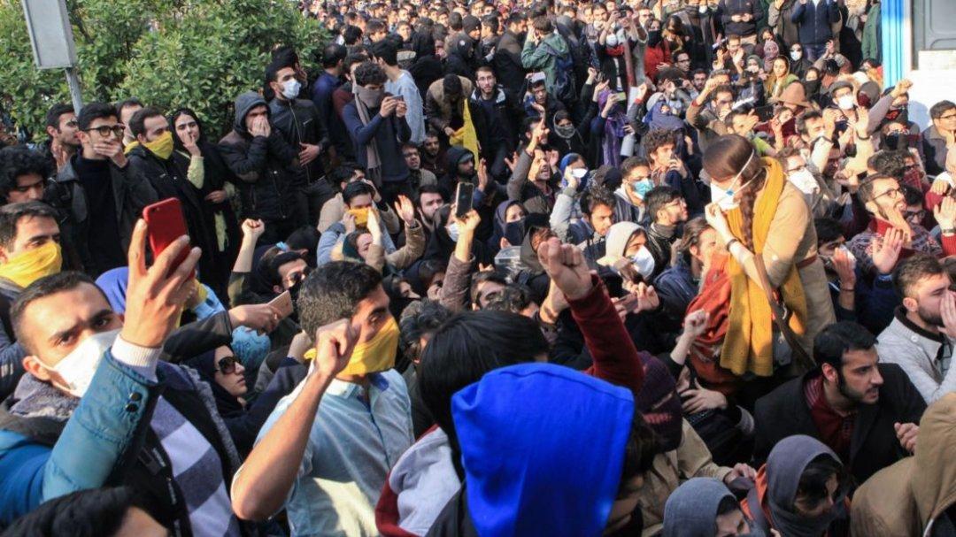 Протести в Тегеранському університеті, 2017 р.